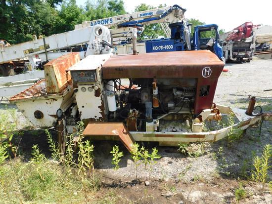 Putzmeister TK70 trailer line pump