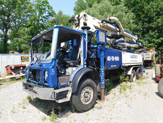 2003 Mack MR6885 w/ Schwing 2023-4/ S 31 T Concrete Pump Truck