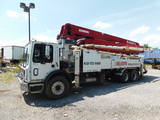 2005 Mack MR688S w/ Schwing 2023-4 39x Concrete Pump Truck