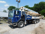 2004 Mack MR688S w/ Schwing 2023-4/ KVM 32XL Concrete Pump Truck