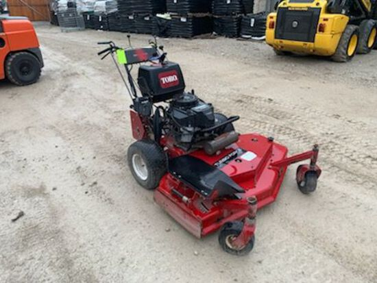 "Toro 48"" Hydro Walk Behind Lawn Mower"