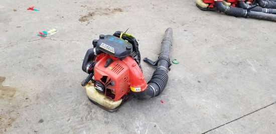 Red Max Backpack Blower Hip Throttle