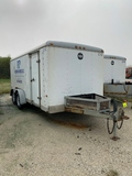 1999 Wells Cargo 7' X 16' Enclosed Trailer