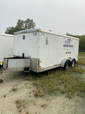 2001 Wells Cargo 7' X 16' Enclosed Trailer