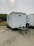 2005 Wells Cargo 7'X12' Enclosed Trailer
