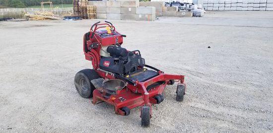 """Toro 60"""" Com. Stand On Zero Turn Lawn Mower M#: 74513 / S#: 400505061 / Year: 2017 / Engine: 25 HP K"""