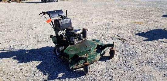 """Lesco 48"""" Com. Gear Drive Walk Behind Lawn Mower M#: TCB11596 / S#: 0041198 / Year: N/A / Engine: 15"""