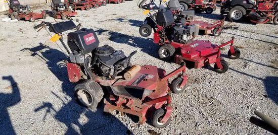 "Toro 48"" Com. Hydro Walk Behind Lawn Mower M#: 30938 / S#: 312000141 / Year: 2012 / Engine: 15 HP Ka"