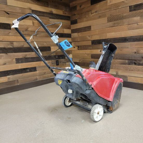 "Toro 21"" Single Stage Snow Blower"