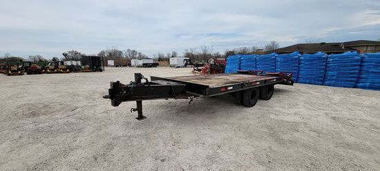 1997 Dynaweld 16' Equipment Trailer