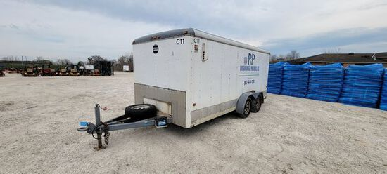 1999 Wells Cargo 7'X16' Enclosed Trailer