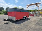 2002 United Express 7' x 16'  Enclosed Trailer