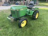 John Deere Mid Size Tractor
