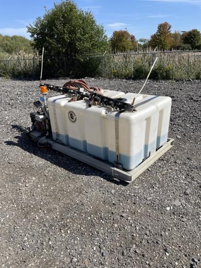 Chemical Cont 240 Gallon Spray Tank