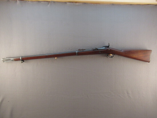 antique: SPRINGFIELD MODEL 1873 TRAP DOOR, 45-70CAL. RIFLE, S#163100