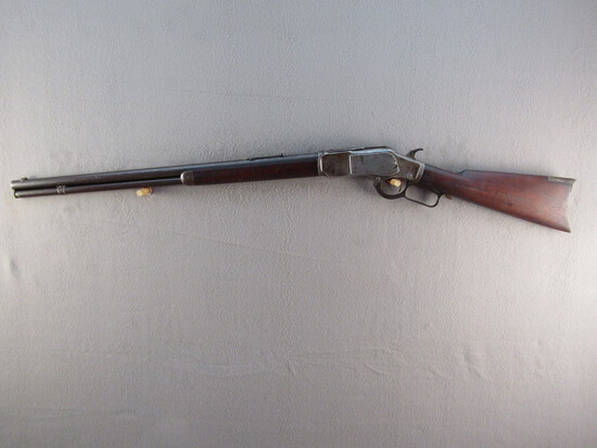 antique: WINCHESTER MODEL 1873, 22CAL. SHORT ONLY LEVER ACTION RIFLE, S#385400B