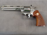 handgun: COLT PYTHON, 357MAG REVOLVER, S#24765E
