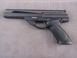 handgun: BERETTA MODEL U22, 22CAL SEMI AUTO PISTOL, S#149355