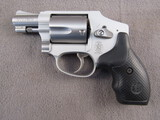 handgun: SMITH & WESSON MODEL 642-2, 38 SPECIAL REVOLVER, S#CL74393