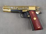 handgun: COLT, FOUNDING FATHERS COMMEMORATIVE MKIV SERIES, 45CAL SEMI AUTO PISTOL, S#2822491