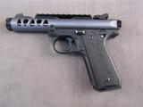 handgun: RUGER MARK IV LITE, 22CAL LR, S#500117772, UNFIRED, NIB