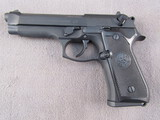 handgun: BERETTA MODEL 92FS, 9MM SEMI AUTO PISTOL, S#BER072272Z