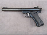 handgun: RUGER, GOVERNMENT MARK II, 22CAL SEMI AUTO PISTOL, S#210-47426