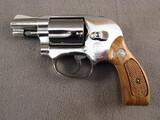 handgun: SMITH & WESSON MODEL 38, 38CAL DOUBLE ACTION REVOLVER, S#ADV5905