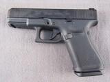 handgun: GLOCK MODEL 19, 9MM SEMI AUTO PISTOL, S#BNFX664