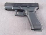 handgun: GLOCK MODEL 45, 9MM SEMI AUTO PISTOL, S#AD2H995