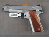 handgun: KIMBER MODEL 1911, 9MM SEMI AUTO PISTOL, S#KF93659