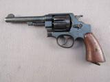 handgun: SMITH & WESSON MODEL 1937 BRAZILIAN CONTRACT, 45ACP DOUBLE ACTION REVOLVER, S#206155