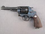 handgun: SMITH & WESSON MODEL 1937 BRAZILIAN CONTRACT, 45ACP. DOUBLE ACTION REVOLVER, S#195915