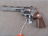 handgun: COLT PYTHON, 357CAL REVOLVER, S#PY017052