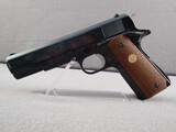 handgun: COLT GOVERNMENT MODEL MK IV/SERIES 70, 45ACP SEMI AUTO PISTOL, S#92404G70