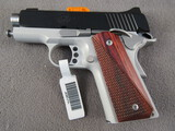 handgun: KIMBER MODEL ULTRA CARRY II, 9MM SEMI AUTO PISTOL, S#KUF29628
