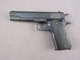 handgun: ARGENTINE MODEL 1927, 45CAL ACP SEMI AUTO PISTOL, S#37512