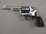handgun: SMITH & WESSON MODEL 1905 4TH CHANGE, 38 SPECIAL DOUBLE ACTION REVOLVER, S#S992667
