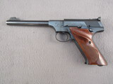 handgun: COLT WOODSMAN, 22CAL SEMI AUTO PISTOL, S#219011-S