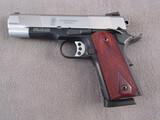 handgun: S&W MODEL 1911, 45CAL SEMI AUTO PISTOL, S#UBZ5931