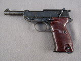 handgun: SPREEWERK MODEL P38, 9MM SEMI AUTO PISTOL, S#881F