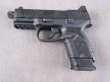 handgun: FN MODEL 509, 9MM SEMI AUTO PISTOL, S# GKS0084970