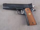 handgun: COLT GOLD CUP NATIONAL MATCH MARK 4 SERIES 70, 45ACP TARGET PISTOL, S#70N64227