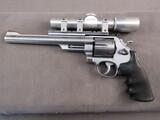 handgun: SMITH & WESSON MODEL 657, 41MAG DOUBLE ACTION REVOLVER, S#AJR6044,