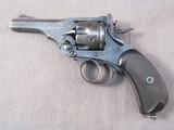 handgun: WEBLEY MKV-1914, 455CAL REVOLVER, S#133848