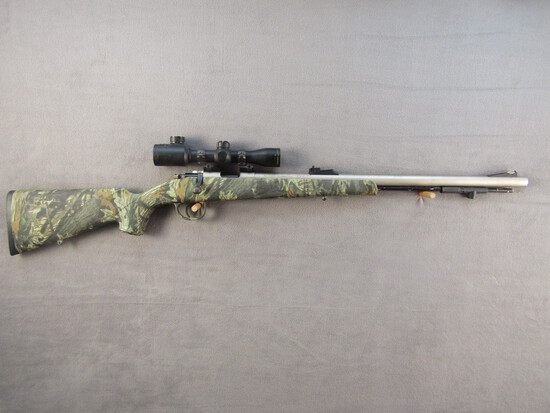 black powder: TRADITIONS MODEL LIGHTNING, 50CAL MUZZLE LOADING BOLT ACTION IN-LINE RIFLE, S#14-13-05