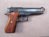 handgun: TAURUS MODEL PT92AF, 9MM SEMI AUTO PISTOL, S#TNI91400
