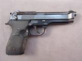 handgun: BERETTA MODEL 92SB, 9MM SEMI AUTO PISTOL, S#C23286Z