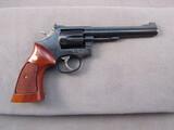 handgun: SMITH & WESSON MODEL 17-6, 22CAL DOUBLE ACTION REVOLVER, S#BDZ5647