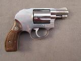handgun: SMITH & WESSON MODEL 649, 38 SPL CAL DOUBLE ACTION REVOLVER, S#AYC6480
